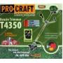 Бензокосы PROCRAFT T4350