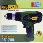 Сетевой шуруповерт Procraft PB-1200