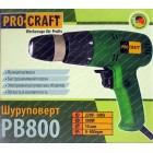 Сетевой шуруповерт Procraft PB-800
