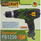 Сетевой шуруповерт Procraft PB1250